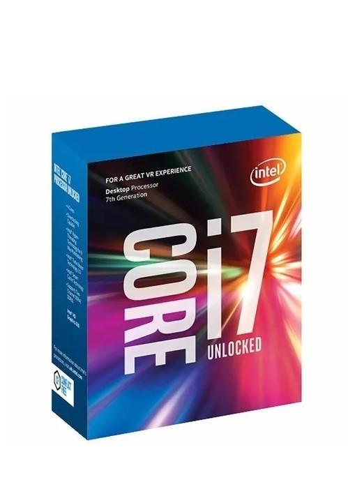 Processador Intel Core i7-7700K Kaby Lake 7a Geração, Cache 8MB 4.2GHz (4.5GHz Max Turbo), LGA 1151