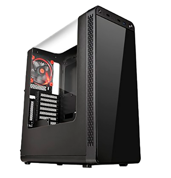 Thermaltake View 27 Black Edition Gull Wing Window SPCC ATX Mid Tower