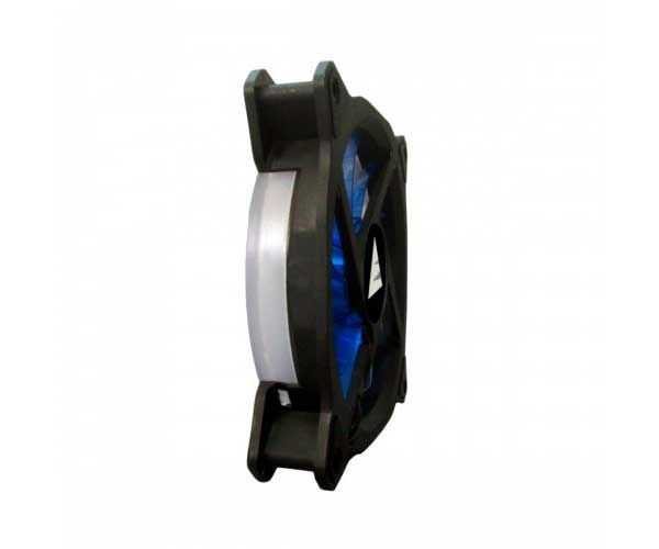 VENTOINHA BLUECASE RING 120MM LED AZUL BFR-05B