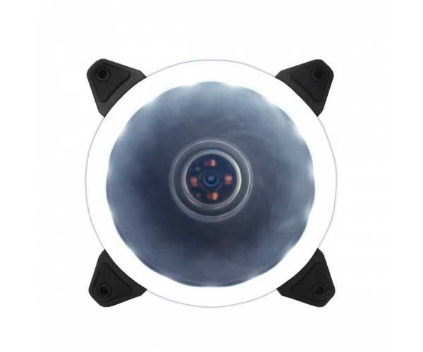 VENTOINHA BLUECASE RING 120MM LED BRANCO BFR-05W