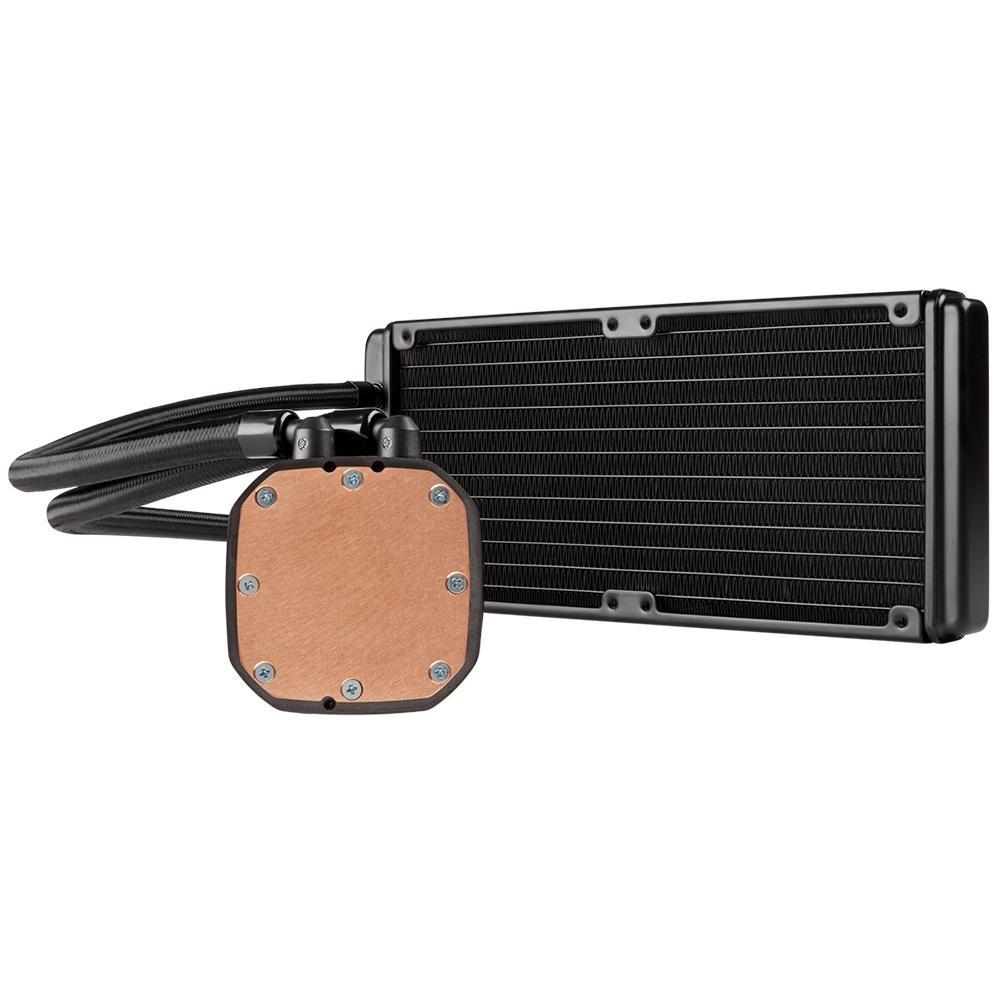 WATER COOLER CORSAIR HYDRO SERIES H100X 240MM LED BRANCO CW-9060040-WW