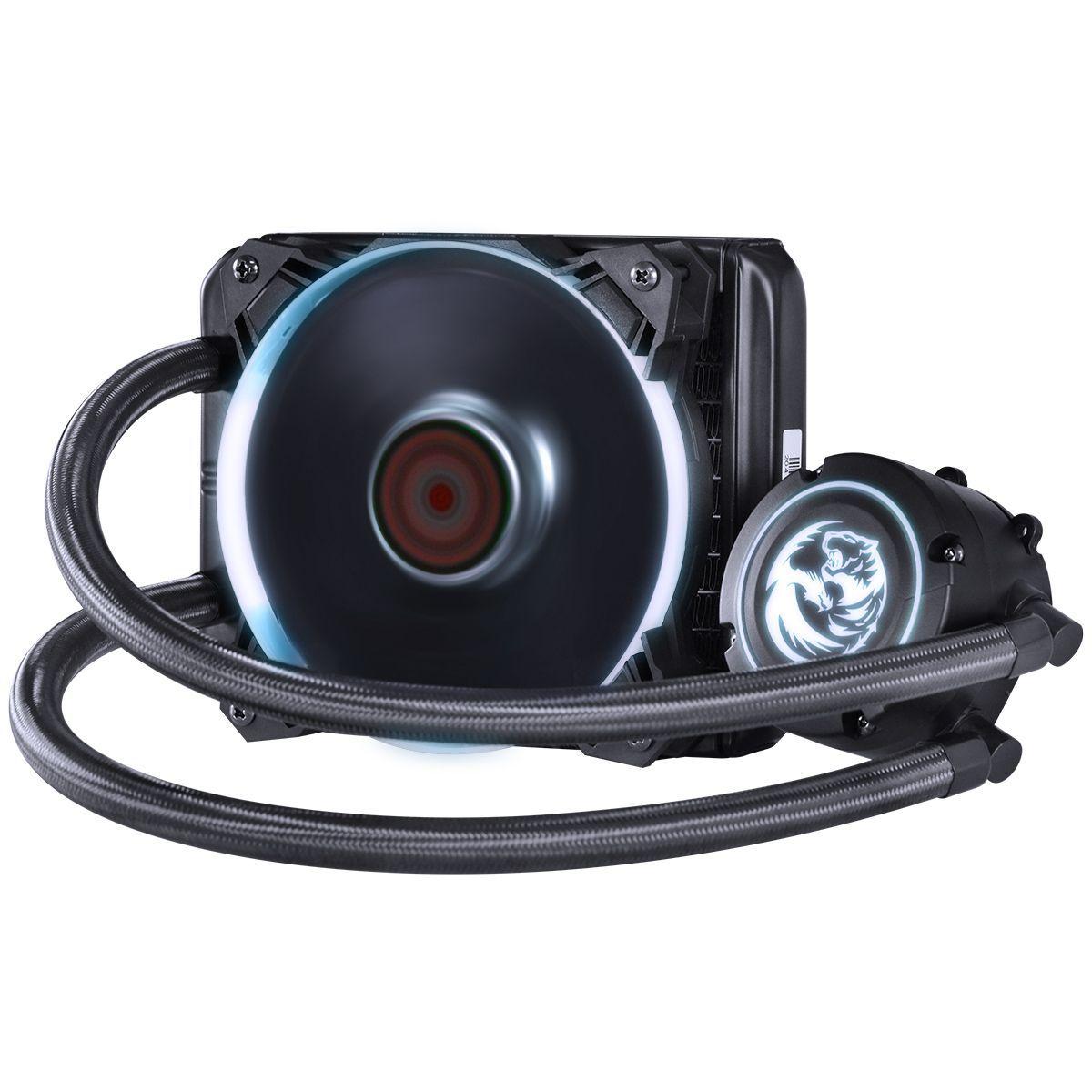 WATER COOLER PCYES NIX RGB 120MM INTEL-AMD PWC120H40PTRGB