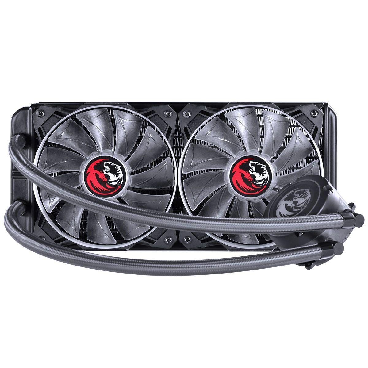 WATER COOLER PCYES NIX RGB 240MM INTEL-AMD PWC240H40PTRGB