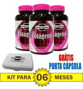 Kit para 6 meses de Colágeno Hidrolisado com Vitaminas e Minerais.