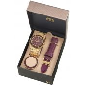 Relógio Mondaine Feminino Troca Pulseiras 99265LPMVDE1