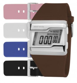 Kit Relógio Mormaii Troca Pulseiras Digital FZCAC/T8S