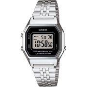 Relógio Casio Vintage Prata Unissex LA680WA-1DF