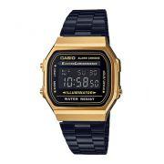 Relógio Casio Vintage Bicolor Unissex A168WEGB-1BDF