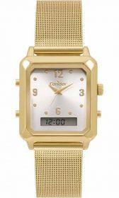 Relógio CONDOR Feminino Top Fashion Dourado COBJ3718AB/4K