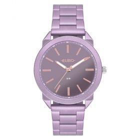 Relógio Euro Color Spray Lilas / Lavanda Feminino EU2035YSI/4G