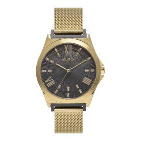 Relógio Euro Double Lugs Dourado Feminino EU2036YPL/5F