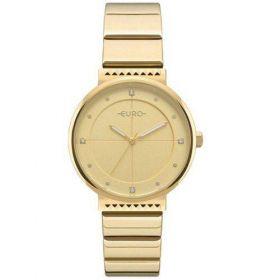 Relógio Euro Spike Slim Dourado Feminino EU2035YOA/4D