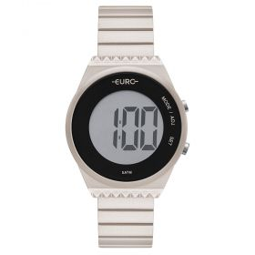 Relógio Euro Fashion Fit Slim Champanhe EUBJT016AG/4C
