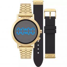 Relógio Euro Feminino Fashion Fit Dourado Troca Pulseiras EUBJ3407AA/T4P