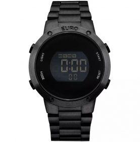 Relógio Euro Feminino Fashion Fit Preto EUBJ3279AB/4P
