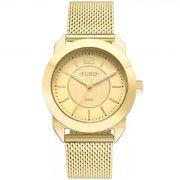Relógio Euro Geometric Power Dourado Feminino EU2036YLS/4D
