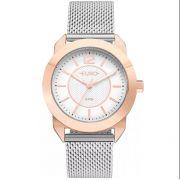 Relógio Euro Geometric Power Rose Feminino EU2036YLT/4J