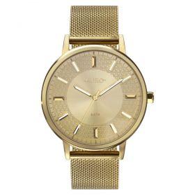 Relógio Euro Mix Texture Dourado Feminino EU2036YPB/4D