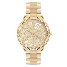 Relógio Euro Multiglow Dourado Feminino EU6P29AHO/4D