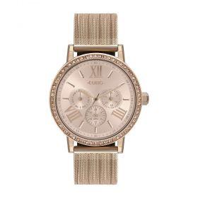 Relógio Euro Multiglow Party Rose Feminino EU6P29AHM/4J
