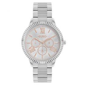 Relógio Euro Multiglow Prata Feminino EU6P29AHR/3K