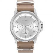 Relógio Euro Spike Basics Prata Feminino EUVD75AA/3C