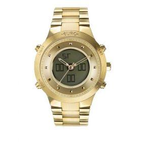 Relógio Euro Sporty Lux Dourado Feminino EUBJ3889AA/4D