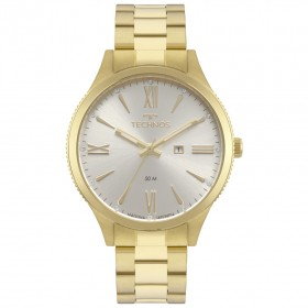 Relógio Feminino Technos Dourado 2015CCP/K4K