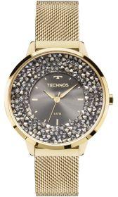 Relógio Feminino Technos Elegance Crystal Swarovski 2035MLG/4C