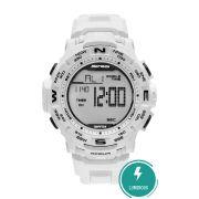 Relógio Mormaii Luminous Masculino Branco MO1173E/8B