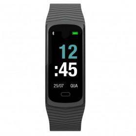 Relógio Mormaii Smart Fit GPS Pulseira Esportiva Preto Unissex MOB3AA8P
