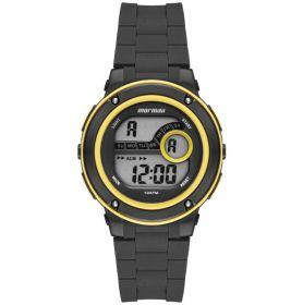 Relógio Mormaii Wave Preto / Amarelo Unissex MO8740AA/8Y