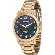 Relógio Seculus Feminino Long Life 23553LPSVDA2