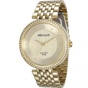Relógio Seculus Feminino Long Life 28778LPSVDA1