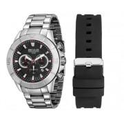 Relógio Seculus Masculino Chronograph Troca Pulseiras 28917G0SKNA1