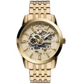 Relógio Technos Classic Automático Dourado Masculino 8205NQ/4X