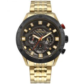 Relógio Technos Cronográfico Dourado Masculino JS25CE/4P