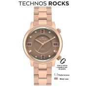 Relógio Technos Crystal Rocks Rose 2039BV/4M