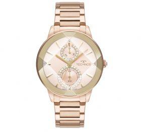 Relógio Technos Crystal Rose Feminino 6P73AE/1T