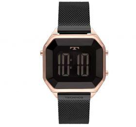 Relógio Technos Digital Crystal Bicolor Feminino BJ3851AM/4P