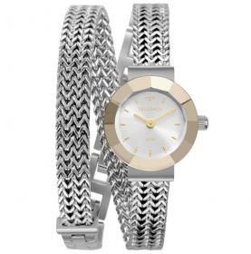 Relógio Technos Elegance Mini Prata Feminino 5Y20IU/1K