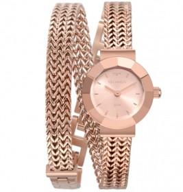 Relógio Technos Elegance Mini Rose Feminino 5Y20IR/4J
