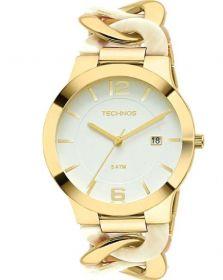 Relógio Technos Elos Dourado Feminino 2115UK/4B
