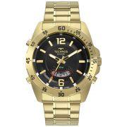 Relógio Technos Skydiver Dourado Masculino T205JL/4P
