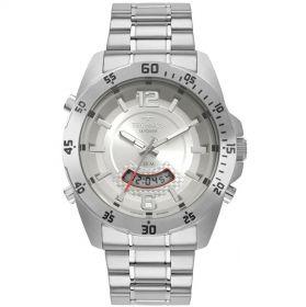 Relógio Technos Skydiver Prata Masculino T205JK/1K