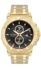 Relógio Technos Skymaster Dourado Masculino OS11ED/4P