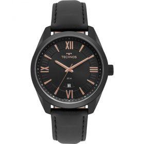 Relógio Technos Steel Couro Masculino 2115MSP/4P
