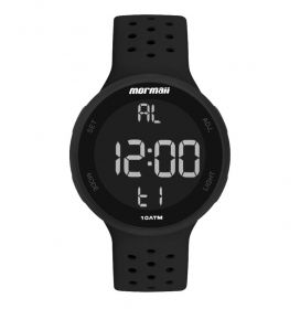 Relógio Unissex Mormaii Preto MO7700AA/8P