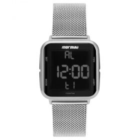 Relógio Unissex Mormaii Wave Prata MO6600AK/7K