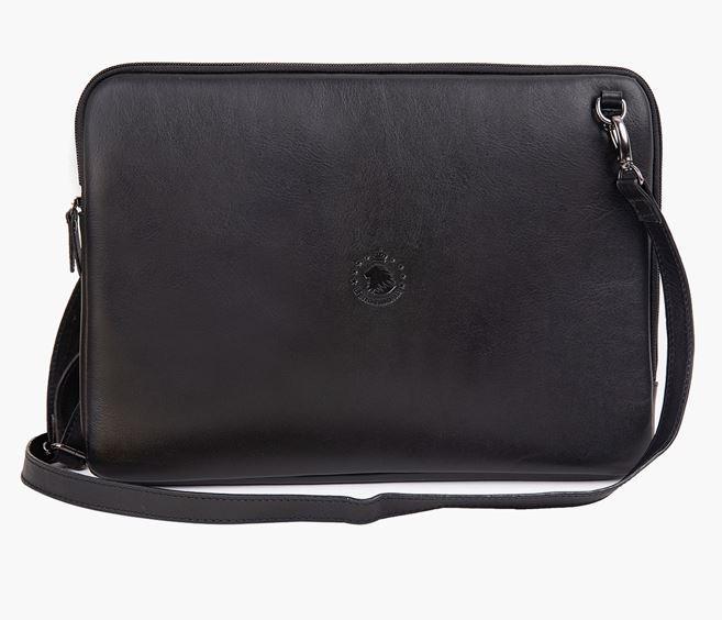 Bolsa Case para Notebook até 15.6' Couro Italiano Preto 5974I-T3P